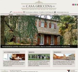 Casa Griccena – Sito online