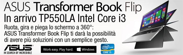 ASUS Notebook: Transformer Book Flip