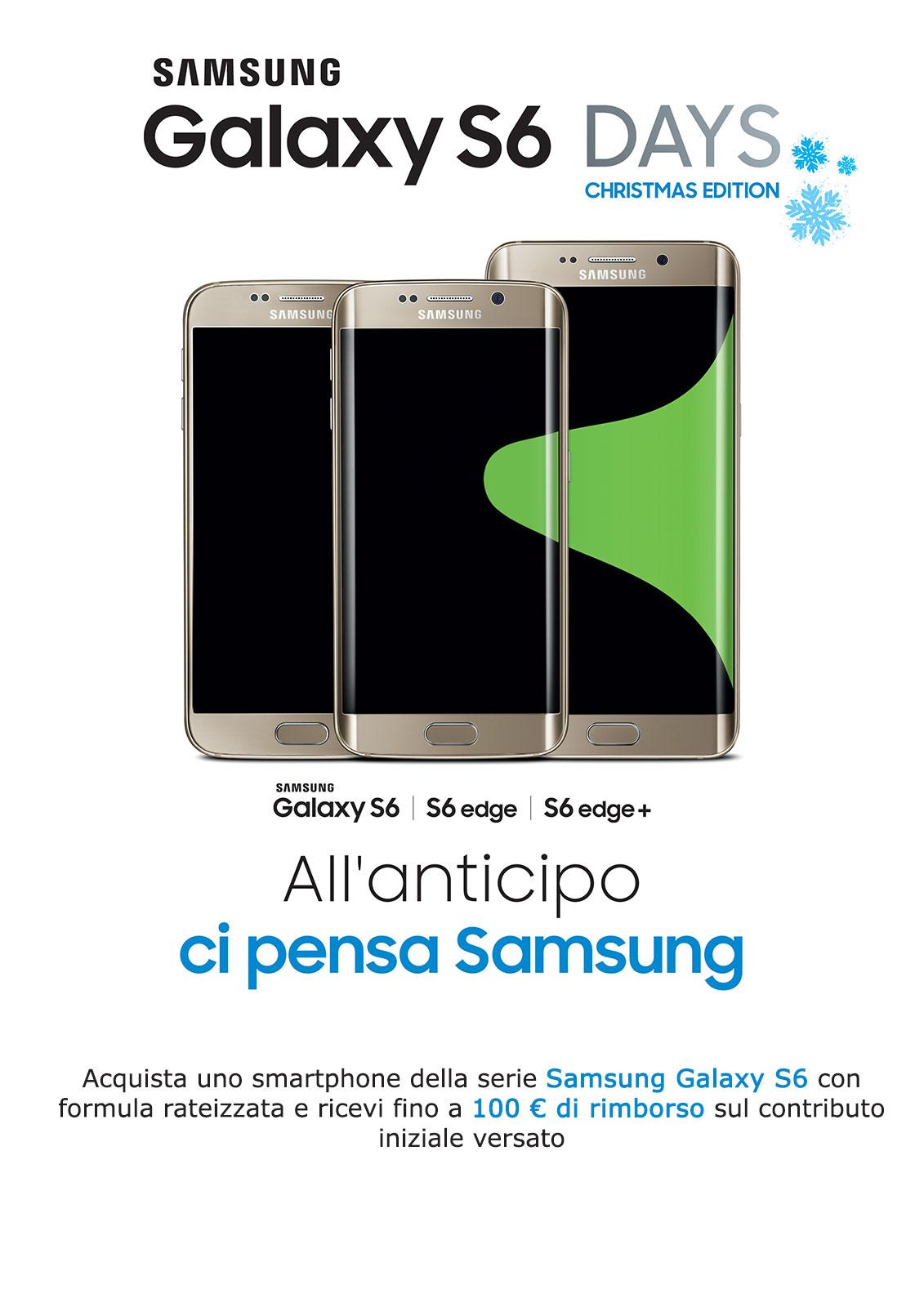 Tornano le offerte Samsung, 100 € di sconto