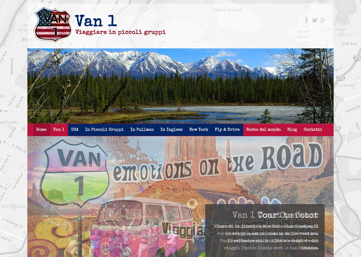 Van 1 Tour Operator on line!